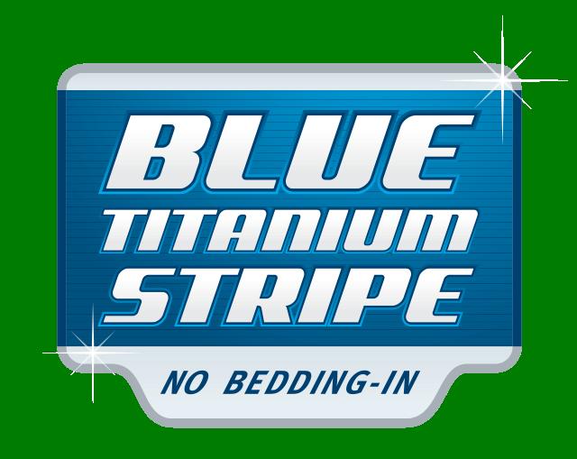 Blue Titanium Stripe   Bendix Brakes